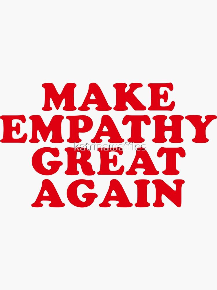 hacer de nuevo la empatía de katrinawaffles