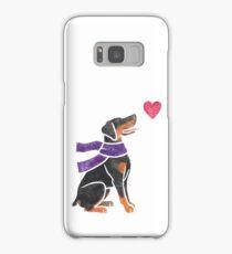 Watercolour Doberman Samsung Galaxy Case/Skin