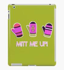 Mitt me up! iPad Case/Skin