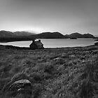 Cottage at Loch Stack by derekbeattie