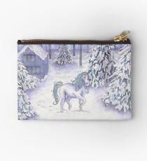 Enchanted Christmas Unicorn  Studio Pouch