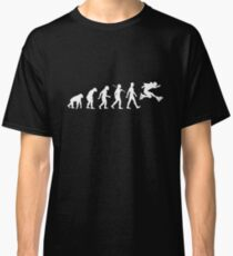 Evolution of Rollerblading Classic T-Shirt