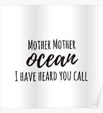 Jimmy Buffett - Mother Ocean Poster