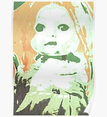Scary Doll Screenprint #3 Poster