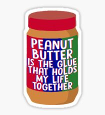 Peanut Butter Sticker