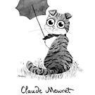 #meowdernart - Claude Mewnet by mariapaizart