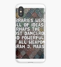 Libraries Are Dangerous iPhone Case/Skin