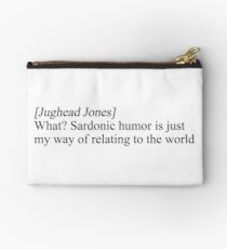Jughead Jones sardonic Studio Pouch
