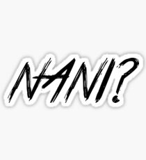 Pegatina NANI ??