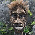 Sculptures By Sea,Bondi,NSW 2017-Thatch Face by muz2142