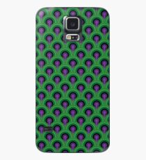 Don't Go in Room 237 - The Shining inspired Overlook hotel vintage carpet pattern Case/Skin for Samsung Galaxy