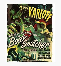 The Body Snatcher, movie poster Photographic Print