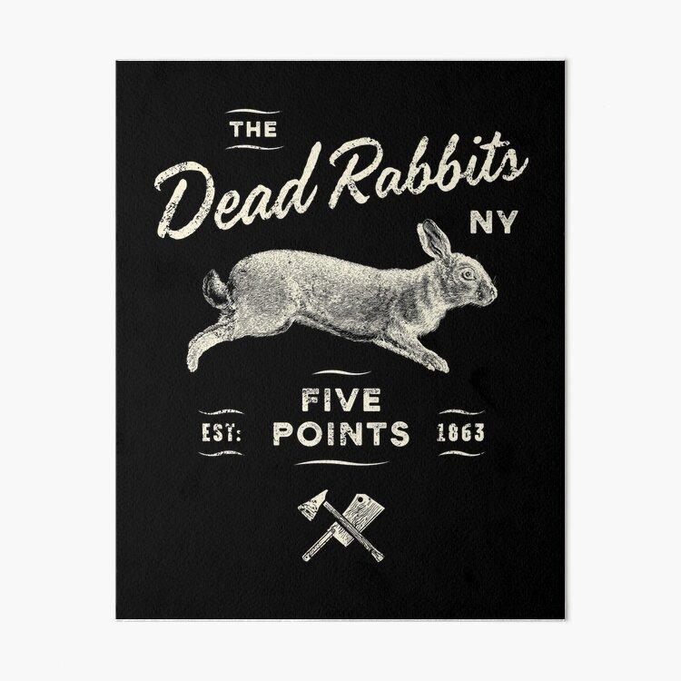 Dead Rabbits Art Board Print