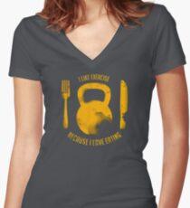 Brigitte Women's Fitted V-Neck T-Shirt