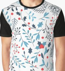 Christmas Pattern Graphic T-Shirt