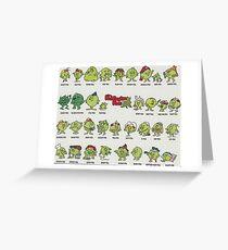 The Poddington Peas Greeting Card