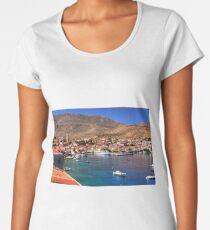 Nimborio Village View Women's Premium T-Shirt