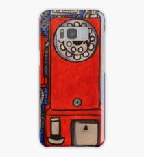 """1950 B.C. (Before Cellphones)""  Samsung Galaxy Case/Skin"