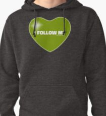I Follow My ❤ (Green) Pullover Hoodie