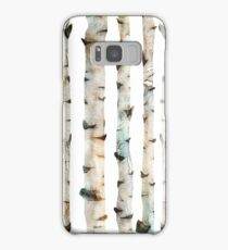 birch tree Samsung Galaxy Case/Skin