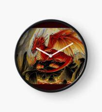 red dragon and motherhood Clock