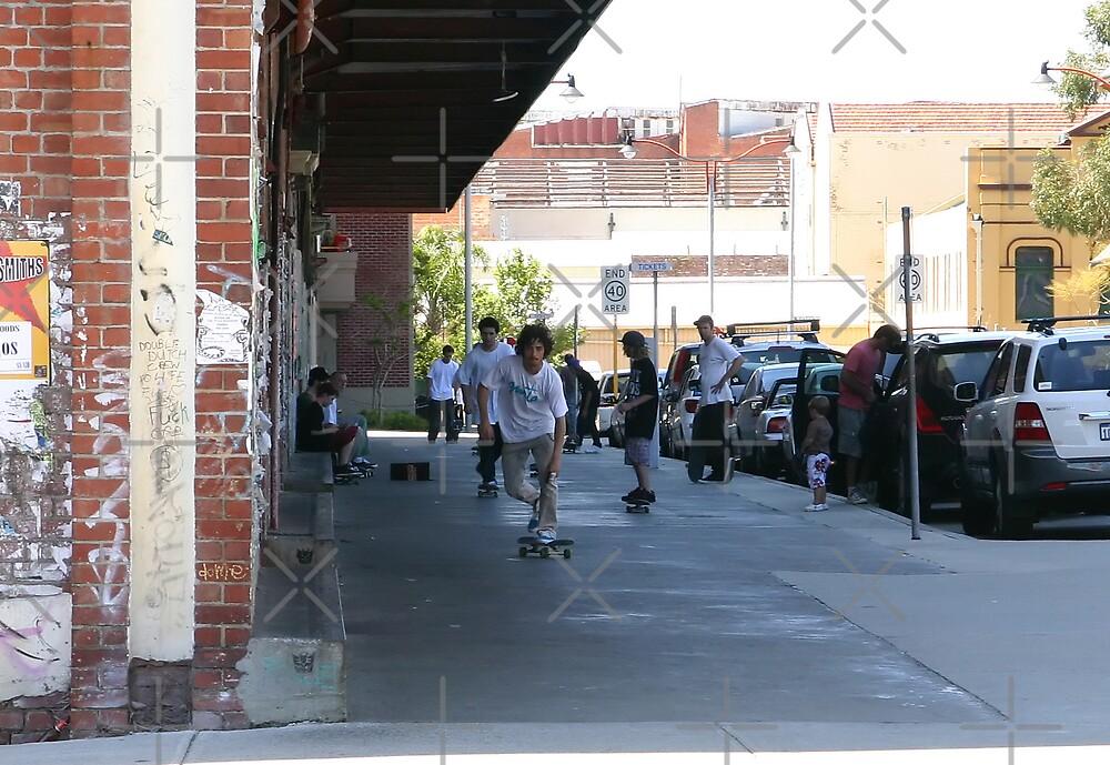Urban Sports - Skateboarders by Sandra Chung