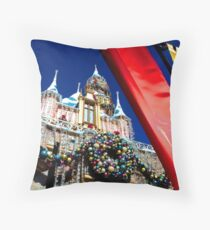 Regal Holiday Welcome Throw Pillow