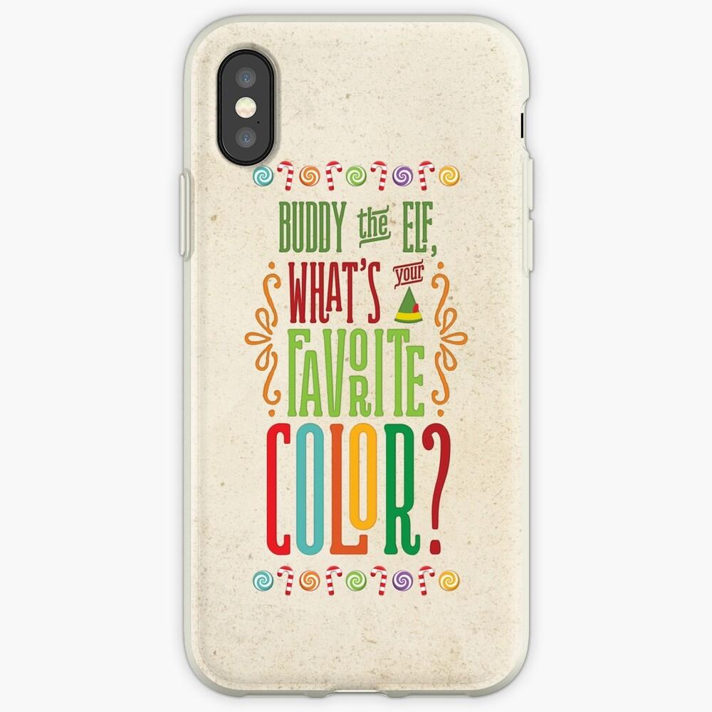 Buddy the Elf - Was ist deine Lieblingsfarbe? iPhone-Hülle & Cover