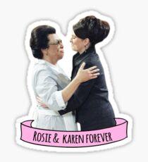 rosie & karen Sticker