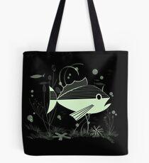 Atomic Fish #3 Tote Bag