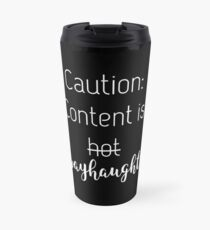 Content is wayhaught - black edition Travel Mug
