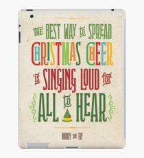 Buddy the Elf - Christmas Cheer iPad Case/Skin