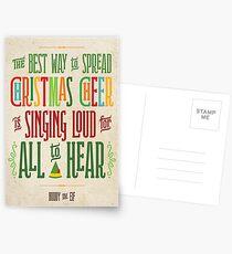 Buddy the Elf - Christmas Cheer Postcards