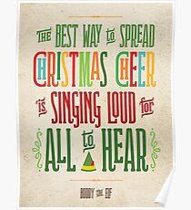 Buddy the Elf - Christmas Cheer Poster