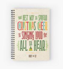 Buddy the Elf - Christmas Cheer Spiral Notebook