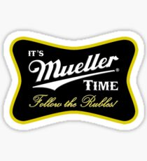 Mueller Follow the Rubles Sticker
