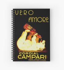 Cordial Campari Spiral Notebook