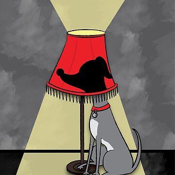Lamp Dog by lisa-richmond
