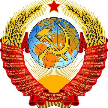 State Emblem of the Soviet Union by robayoxd