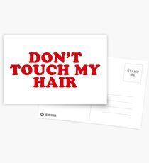 dont touch my hair Postcards