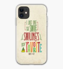 Buddy the Elf - Smiling's My Favorite! iPhone Case
