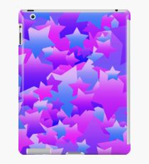Bubble Stars Purple iPad Case/Skin
