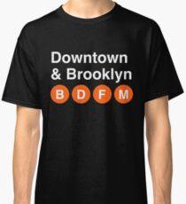 Downtown & Brooklyn Classic T-Shirt