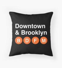 Downtown & Brooklyn Floor Pillow