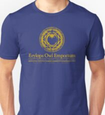 Owl Emporium Logo (yellow) T-Shirt