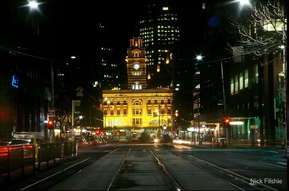 Flinders Street Station by Nick Filshie