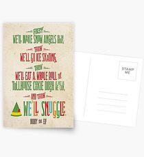 Buddy the Elf - Und dann ... werden wir kuscheln Postkarten