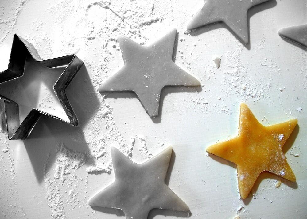 Christmas Cookie Cutter Star by Pamela Burger