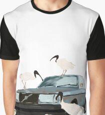 Aussie Hood Ratte Grafik T-Shirt