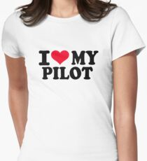 I love my Pilot Women's Fitted T-Shirt